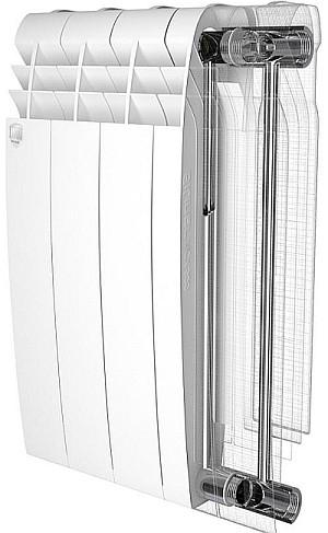 Биметаллический радиатор схема