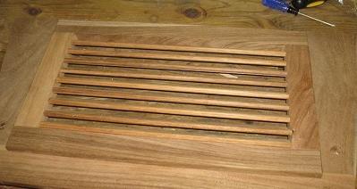 Декор деревянных жалюзи