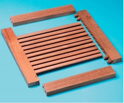 Схема деревянных жалюзи