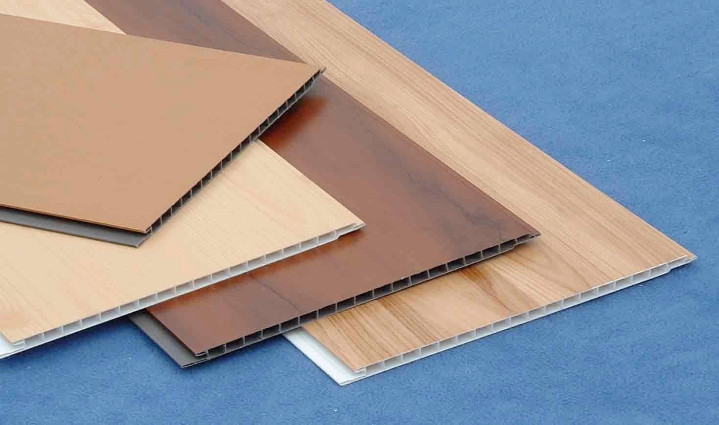 Структура ПВХ панели для внутренней облицовки