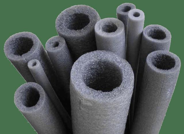 Вспененный полиэтилен для труб разного диаметра