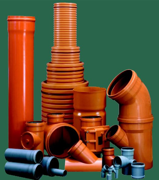Ассортимент пластиковых труб