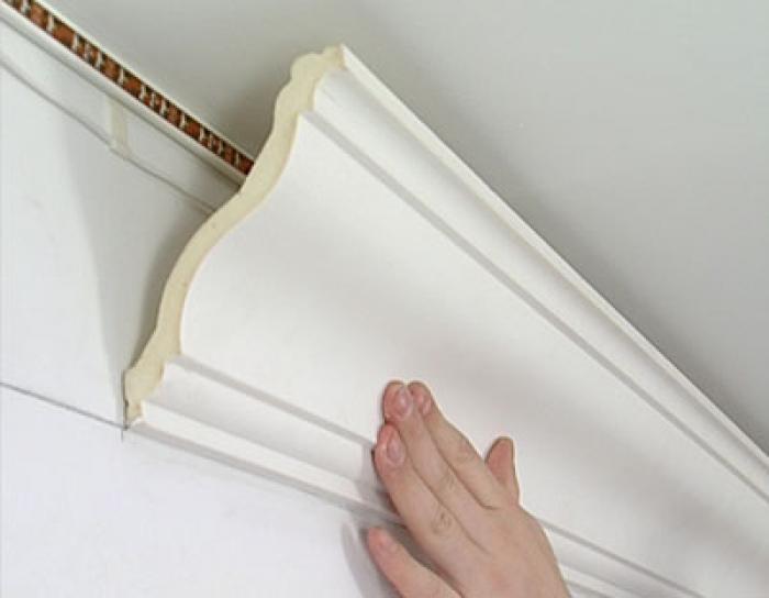 Под широкую галтель нужны идеально ровные стены