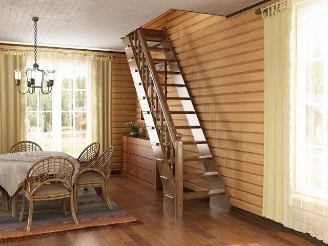 Как сделать деревянную лестницу своими руками за 10 шагов
