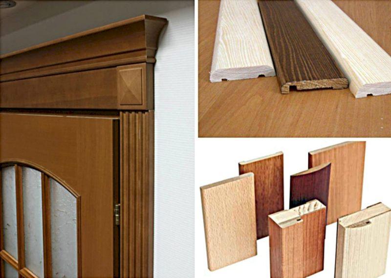 Какие наличники на двери лучше – анализ предложений и монтаж своими руками в 3 вариантах