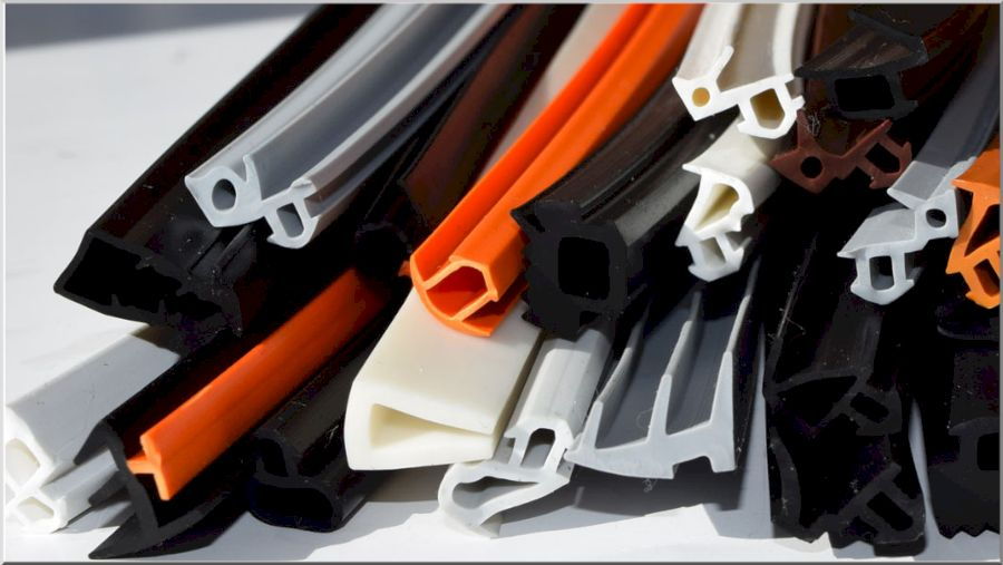 Конфигурация уплотнителей для пластиковых дверей и окон
