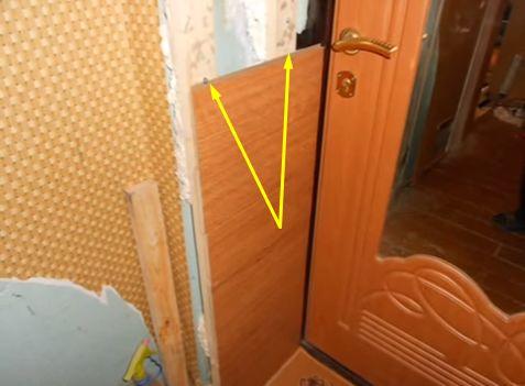 Самостоятельная отделка двери ламинатом для пола – это реально