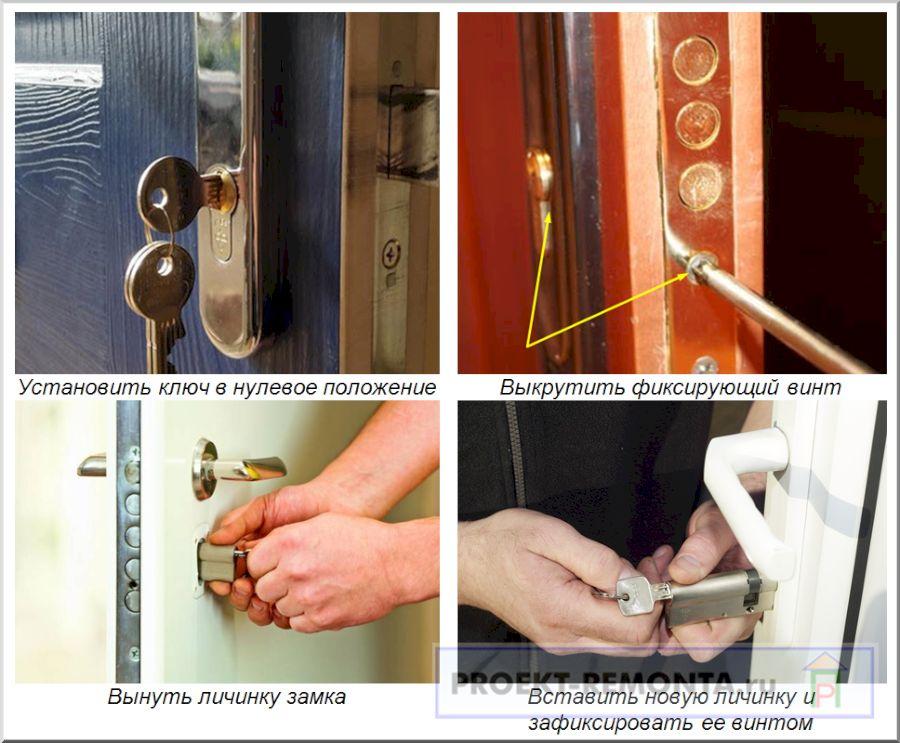 Личинка замка входной двери – виды, замена и 7 советов по выбору