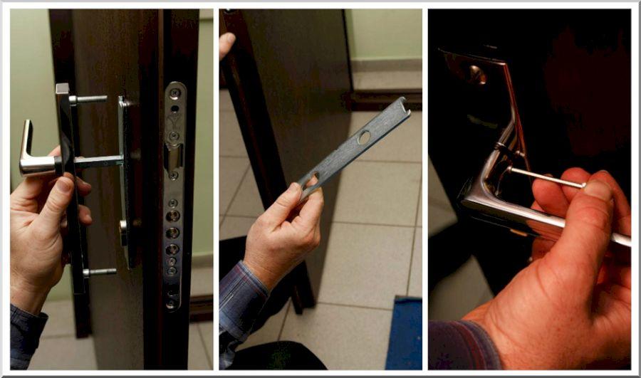 Инструкция по установке ручки на планке