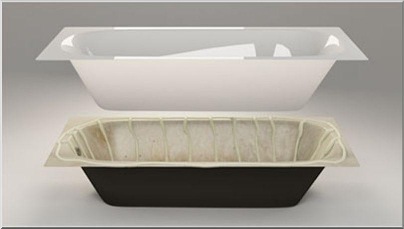 Полимерный вкладыш для ванной