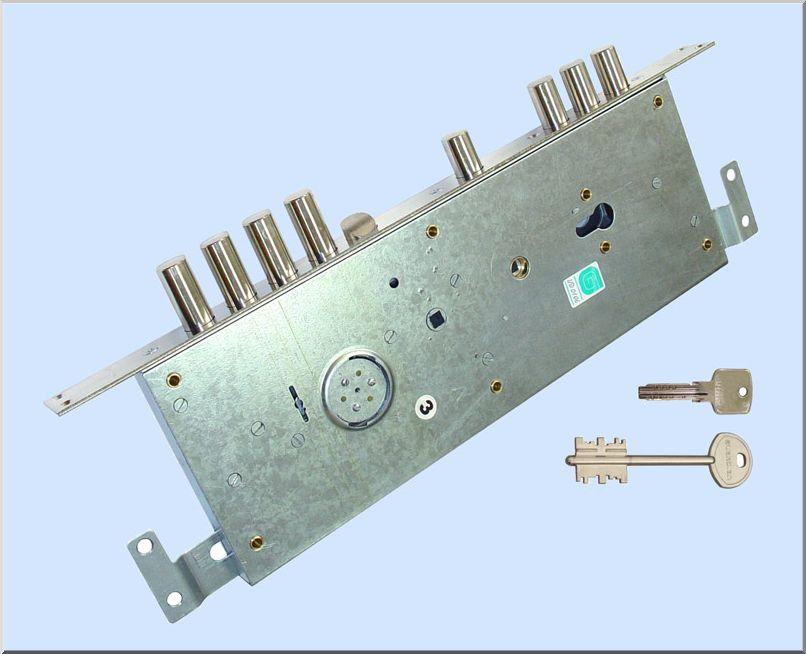 Комбинированная система запирания в одном корпусе