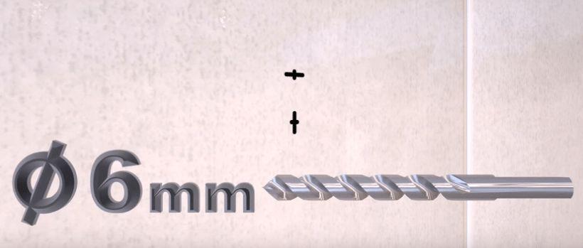 Диаметр сверла под пластиковый дюбель