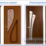 Чем шпонированные двери лучше ламинированных