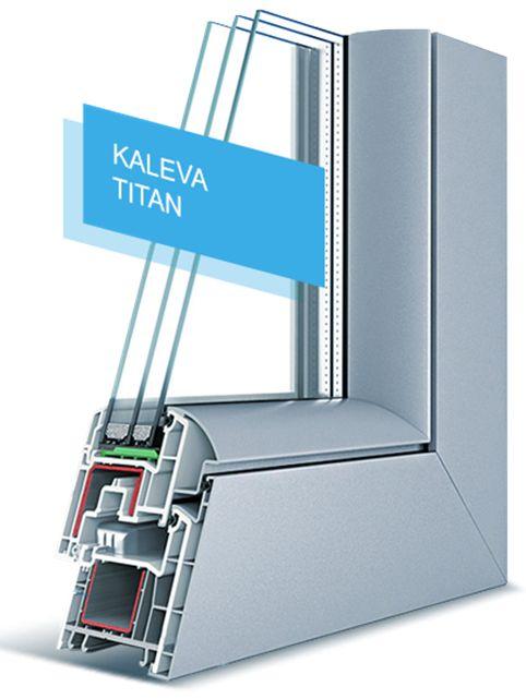 Отечественные ПВХ двери от KALEVA