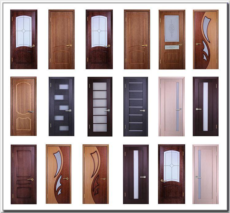Двери облицованные ПВХ пленкой