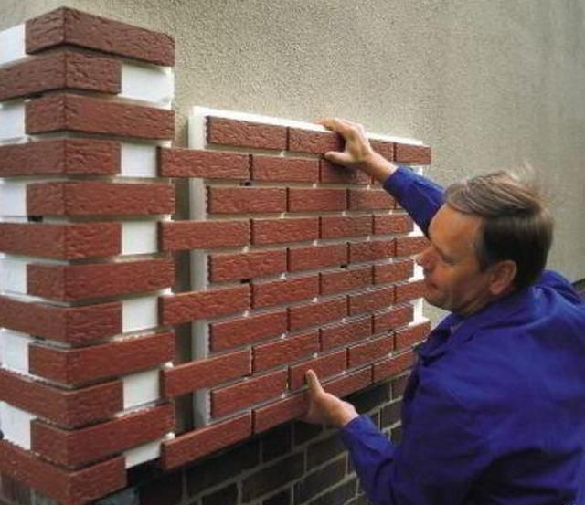 Монтаж цокольных термопанелей