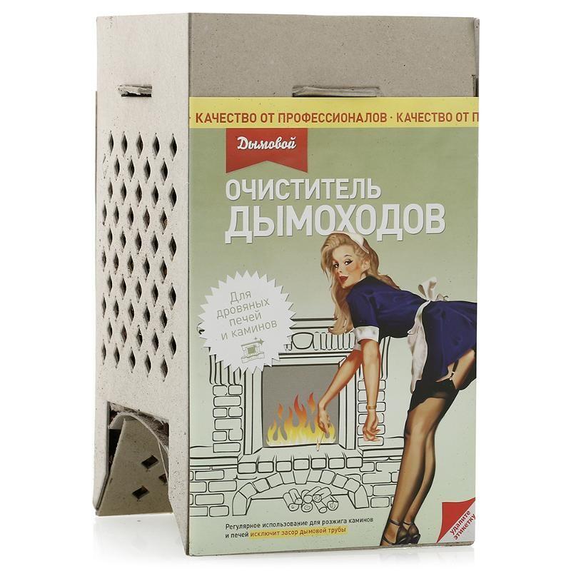 Коробка Дымовой для чистки дымоходов от сажи