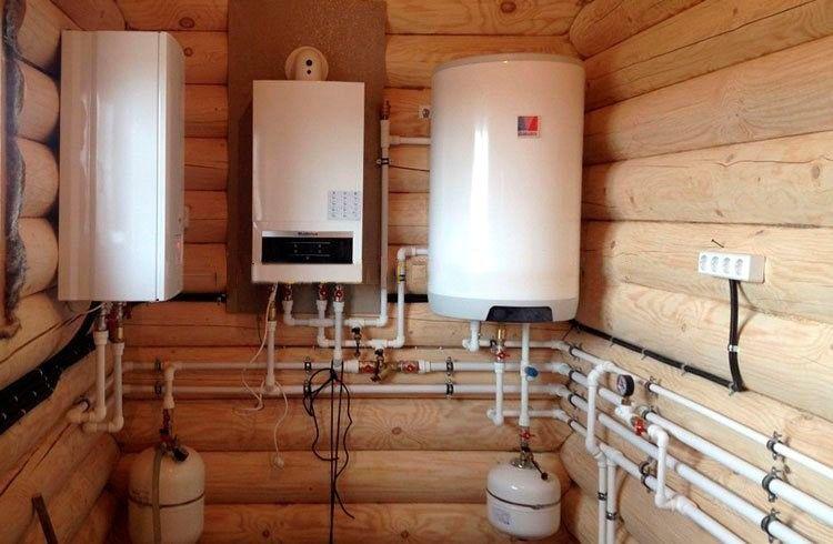 Газовый котёл в деревянном доме