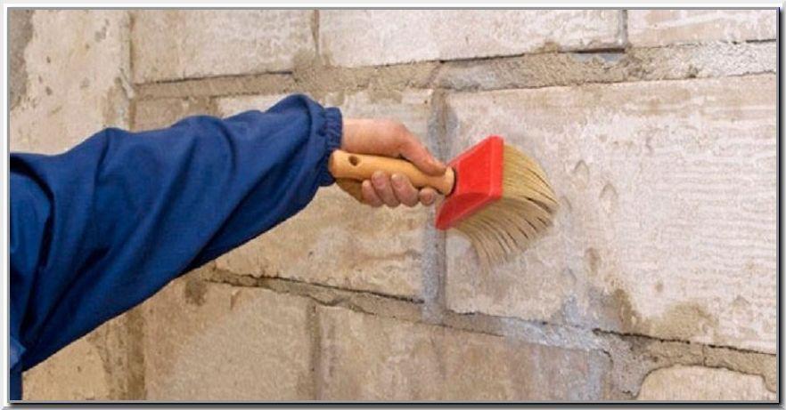 Как грунтовать стену