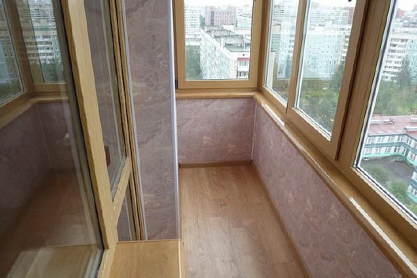 Балкон открытый с трех сторон