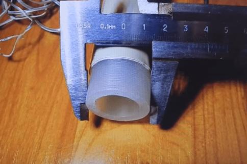 Зачистка армированной трубы