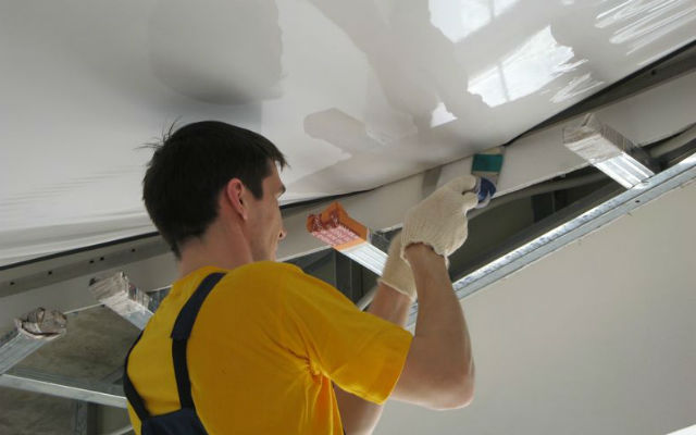 Профессиональный монтаж натяжных потолков