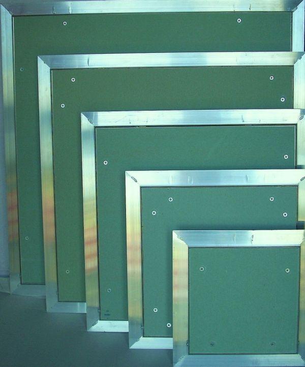 Алюминиевые люки для гипсокартона