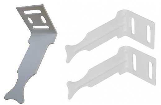 Крепления для алюминиевых и биметаллических батарей