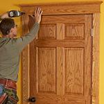 Какие наличники на двери лучше – ассортимент и быстрая установка за 9 шагов