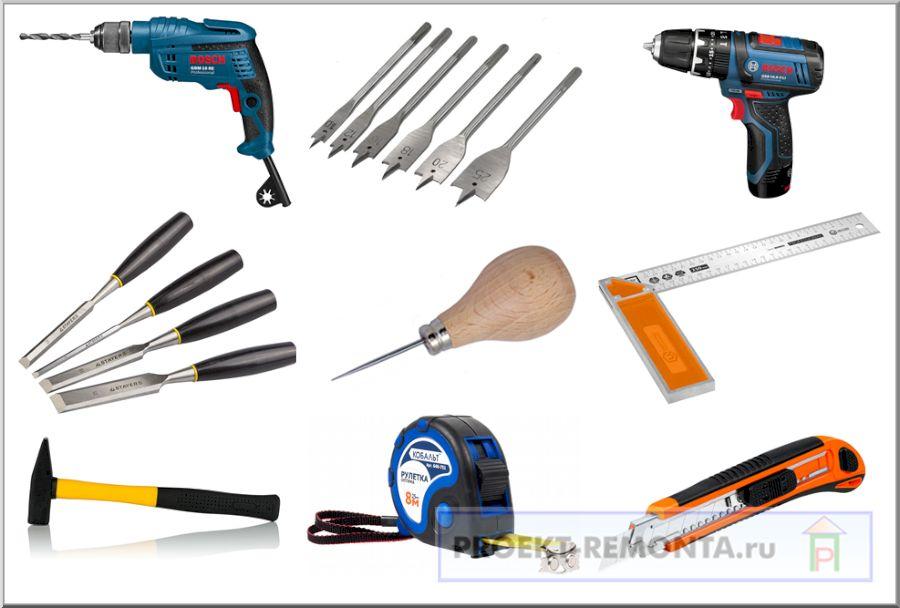 Домашний инструмент для установки навесов