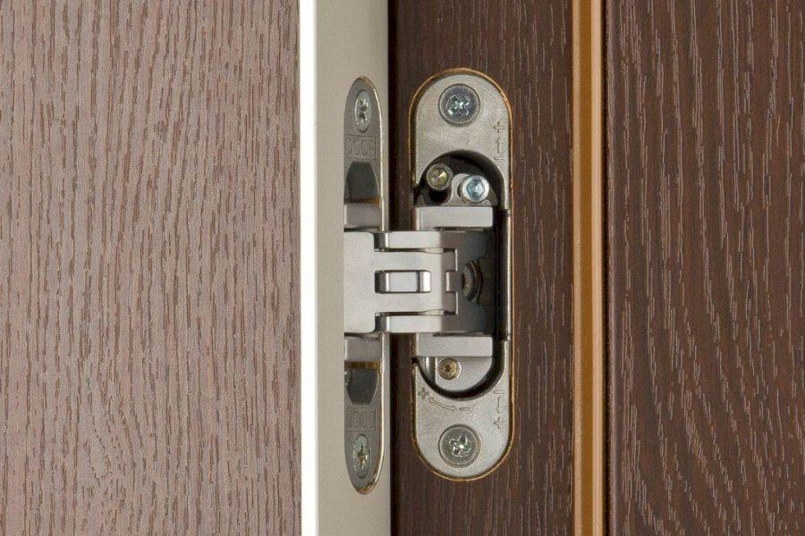 Скрытые навесы в межкомнатной двери