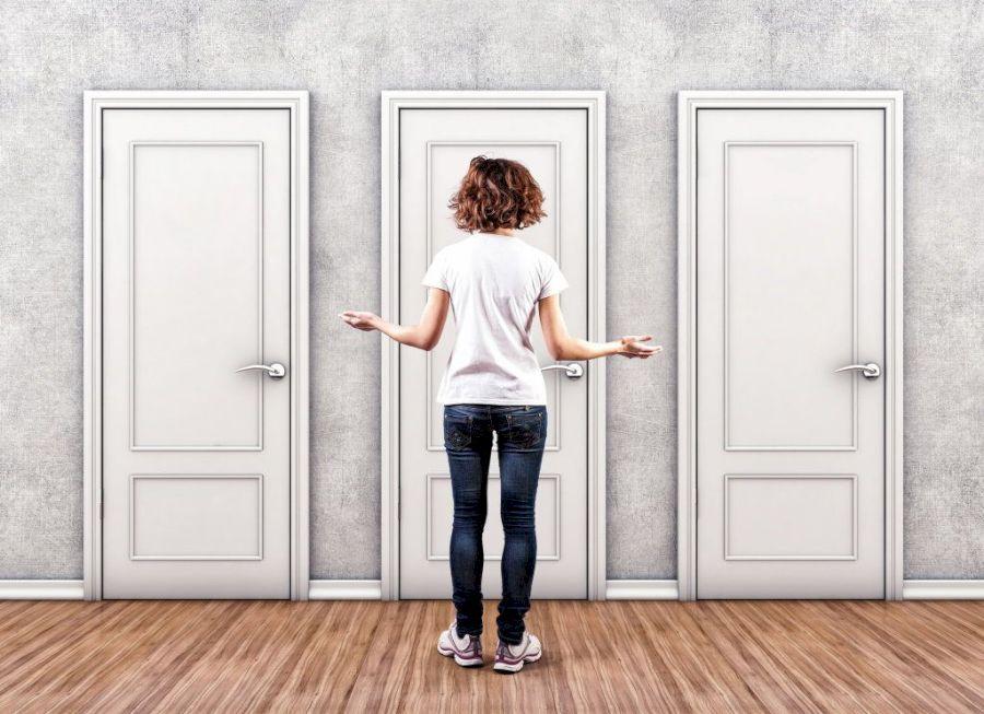 Однотипные двери – это скучно