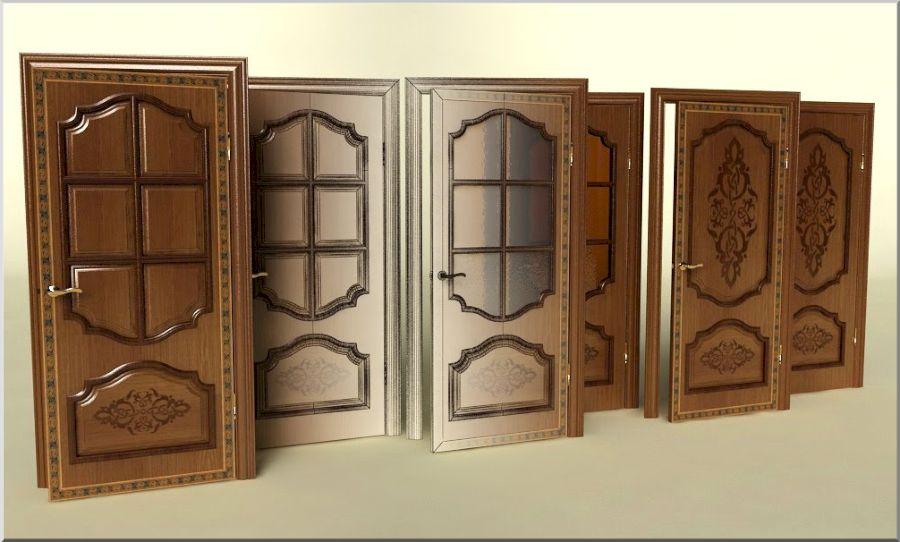 Профессионально сделанные деревянные филенчатые полотна