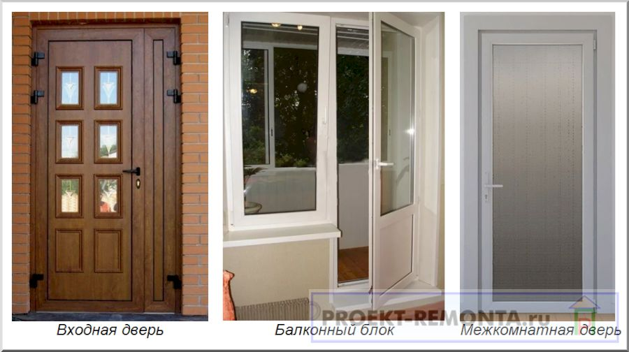 Пластиковые двери для разных целей