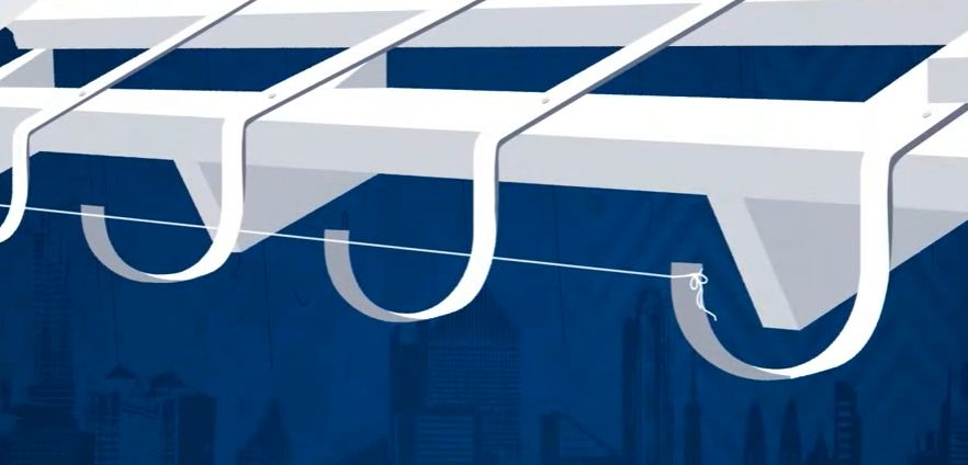 Как закрепить металлические кронштейны для отливов