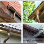 Отливы для крыши – выбор, расчет и самостоятельный монтаж