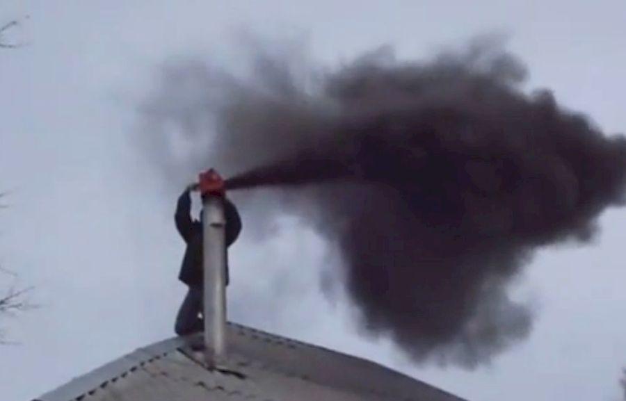 Паровой удар в дымоходе