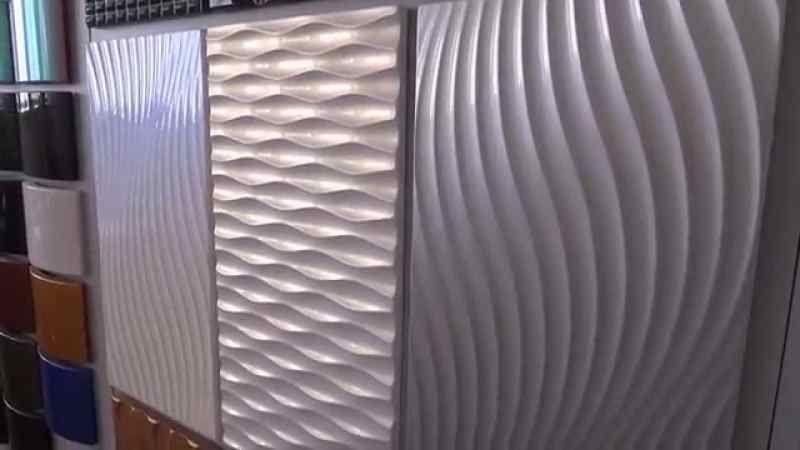 МДФ панели с 3Д эффектом